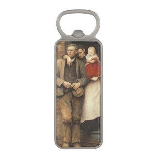 On Strike, c.1891 Magnetic Bottle Opener