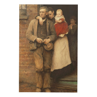 On Strike, c.1891 Wood Wall Art