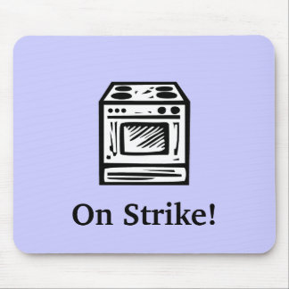 On Strike! Mouse Pad