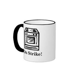 On Strike! Ringer Coffee Mug