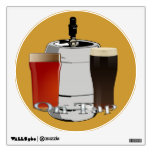 On Tap - Beer / Keg Round Wall Decal