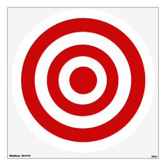 ON TARGET WALL STICKER