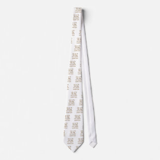 On the 8th day / Any Neck Tie
