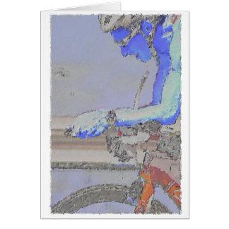 On the Aero-Bars Painting Card