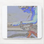 On the Aero-Bars Painting Mouse Pad