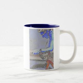On the Aero-Bars Painting Two-Tone Coffee Mug