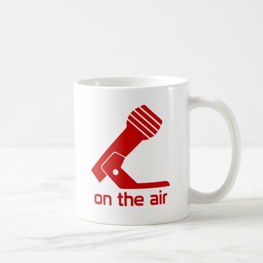 On The Air Mug (Red Design)