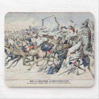 On the Algero-Moroccan Frontier, a French Mouse Pad