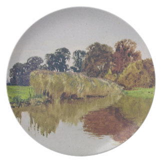 On the Arun, Stoke, Sussex Plate