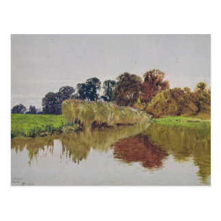 On the Arun, Stoke, Sussex Postcard