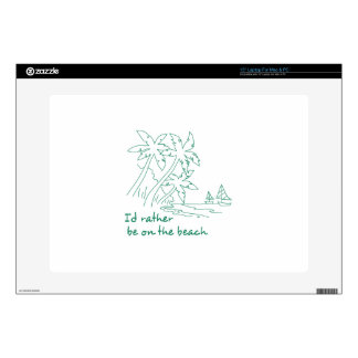 "On The Beach 15"" Laptop Decal"