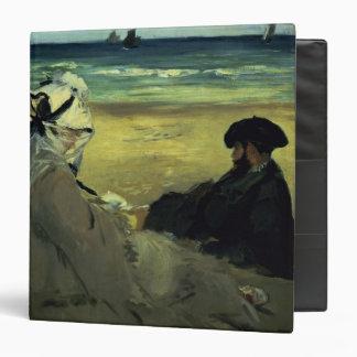 On the Beach, 1873 3 Ring Binder