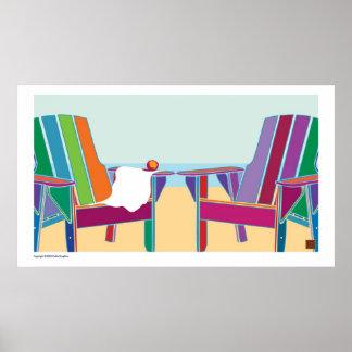 On The Beach 2-Print
