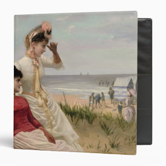 On the Beach 3 Ring Binder