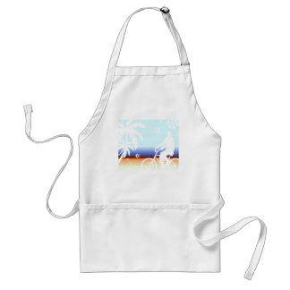 On the Beach Adult Apron