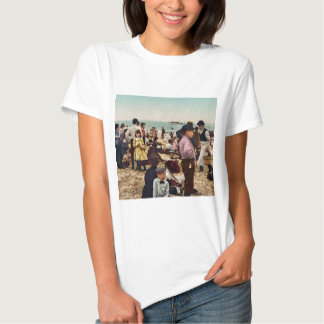 On the beach at Coney Island New York T-shirt