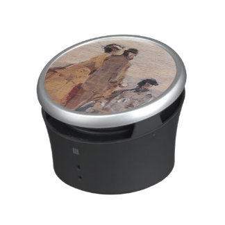 On the Beach at Trouville, c.1865 Bluetooth Speaker