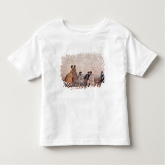 On the Beach at Trouville, c.1865 Toddler T-shirt