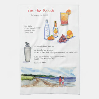 On the Beach bar towel