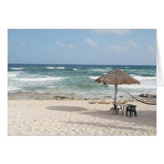 On the Beach Card
