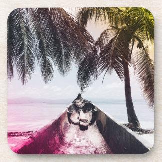 On The Beach Drink Coaster