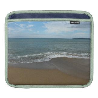 On the beach iPad sleeves