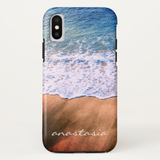 on the beach iPhone x case