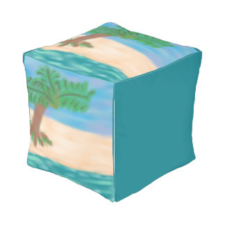 On The Beach Outdoor Pouf