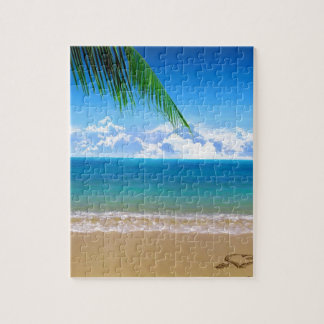 on the beach puzzles
