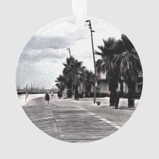 On the beachfront ornament