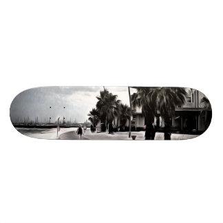 On the beachfront skate deck
