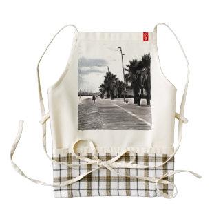 On the beachfront zazzle HEART apron