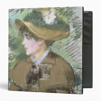 On the Bench, 1879 (pastel) Binder