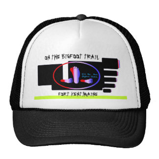 On The Bigfoot Trail. Mesh Hats