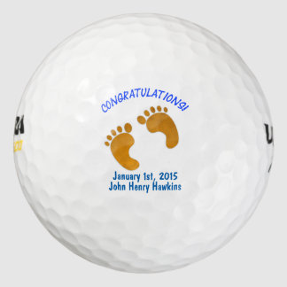 On the Birth of Your Baby - Golf Ball Keepsake Pack Of Golf Balls