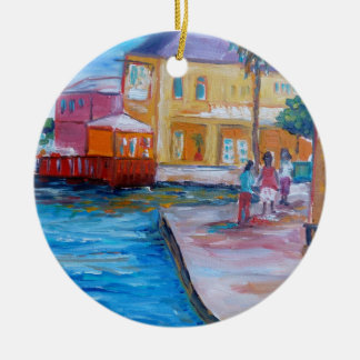 On the Board walk Ornaments