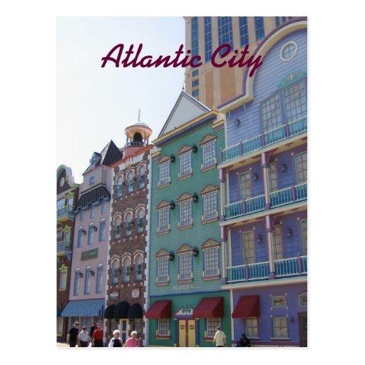 On the Boardwalk--Atlantic City, NJ Post Cards