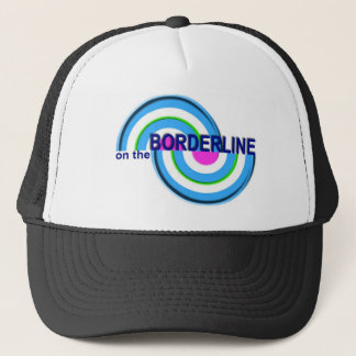 On The Borderline hat-- new logo Trucker Hat
