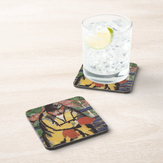 On the Boulevard  by Kazimir Malevich Drink Coasters