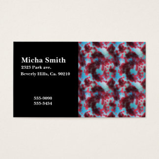 On The Cellular Level Monogram Business Card