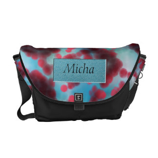 On The Cellular Level Monogram Courier Bag
