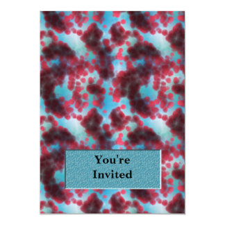 On The Cellular Level Monogram 5x7 Paper Invitation Card