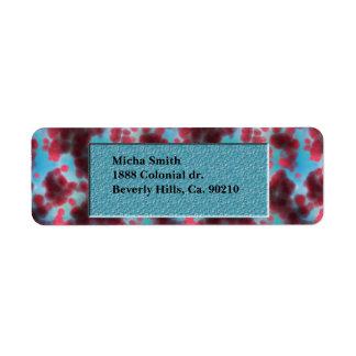 On The Cellular Level Monogram Return Address Label