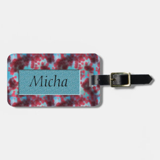 On The Cellular Level Monogram Luggage Tag