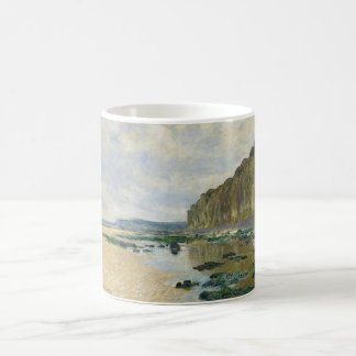 On the Cliff at Pourville (1882) Coffee Mug