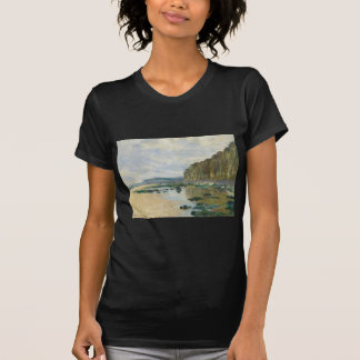 On the Cliff at Pourville (1882) T-Shirt
