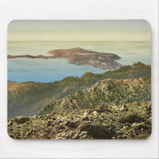 On the Corniche Road, Nice, Riviera classic Photoc Mouse Pad