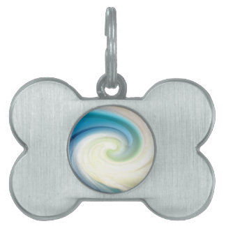 On the crest of a wave pet ID tags