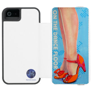 On the Dancefloor - Dare to be Square Wallet Case For iPhone SE/5/5s