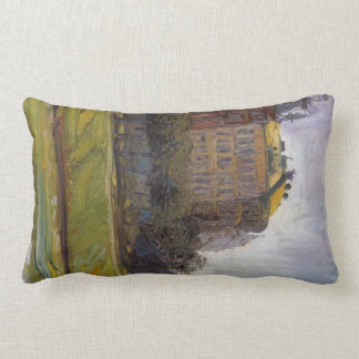 On the Danube Canal by Richard Gerstl Throw Pillow